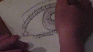 Speed Drawing - Eye {Jason Derulo - Whatcha Say}