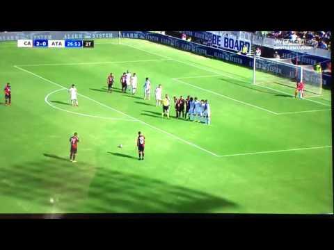 Marco Borriello 3-0 Cagliari Atalanta 2016