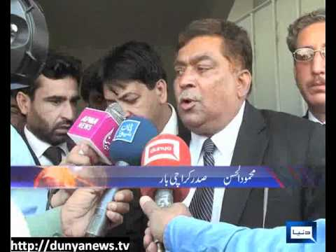 Dunya News-24-03-2012-Lawyers Killed in Karachi