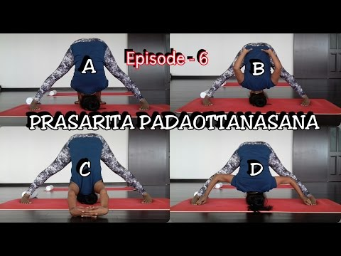 Prasarita Padottanasana & Variations | Dr.Amar & Dr.Suma | Episode 6