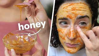 Women Use DIY Skin Care Products For 2 Weeks