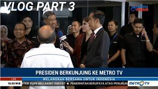 Download Video PRESIDEN BERKUNJUNG KE METRO TV | VLOG HUT METRO TV PART3 MP3 3GP MP4
