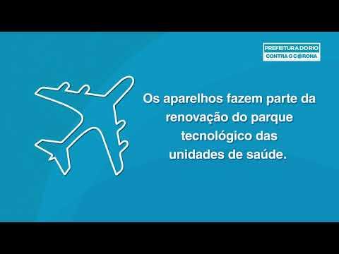 CORONAVÍRUS | Rio recebe mais respiradores da China