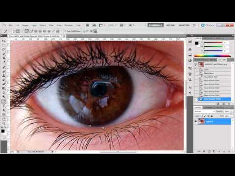 Πώς αλλάζουμε το χρώμα των ματιών σε μια φωτογραφία;