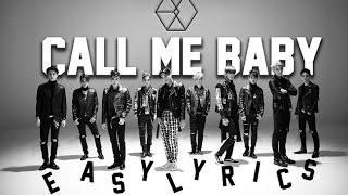 EXO - Call Me Baby (Korean Version) [EASY LYRICS]
