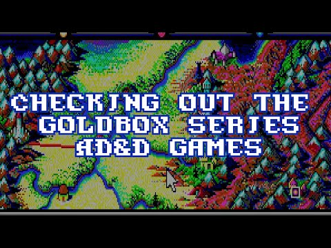 Checking Out The Goldbox Series AD&D Games |