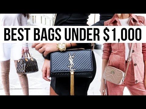 12 Best Luxury Handbags Under $1,000!