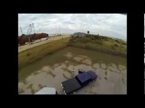 DJI Phantom, Gulf Marine South Yard Ingleside Tx