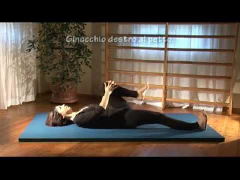 Esercizi di ginnastica per schiena - YouTube