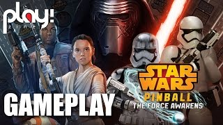 Star Wars Pinball : The Force awakens - 1080p 60fps gameplay - Play! Zine