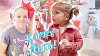 Download lagu DESTROYING JOJO SIWA S CHRISTMAS PARTY she was MAD MP3