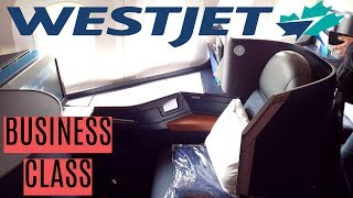 Westjet BUSINESS CLASS London to Calgary|Boeing 787-9