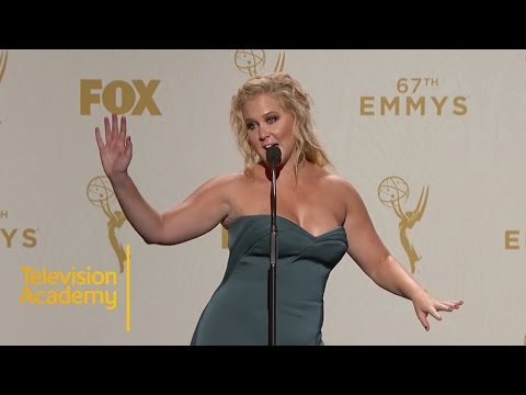 Emmys 2015 | Amy Schumer's Hilarious Post-Awards Interview