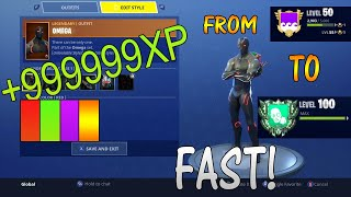 How to Level Up Fast in Fortnite Battle Royale! Without Even Playing!! Fast Glitch!