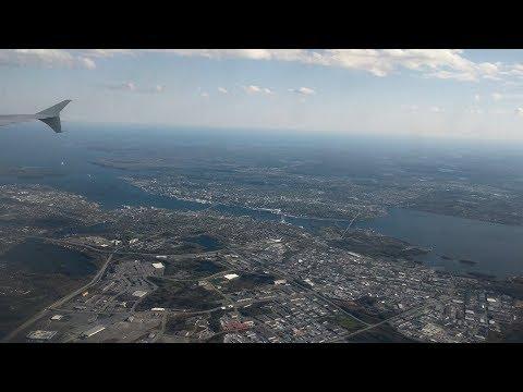 Landing At Halifax Stanfield International Airport