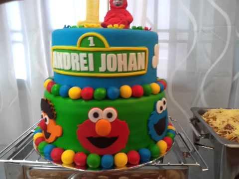 Sesame Street Rainbow Cake Colorful YouTube