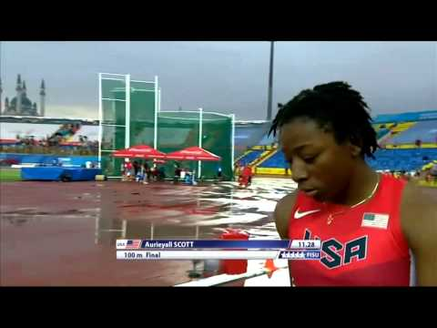 Universiade 2013 - Women 100m final
