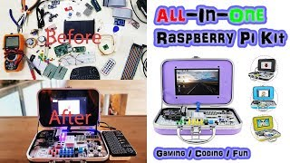All In One Portable Raspberry Pi Kit - CrowPi