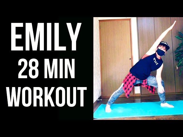 Emily 28 min workout