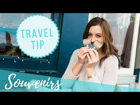 How to find the BEST souvenirs | TRAVEL TIPS