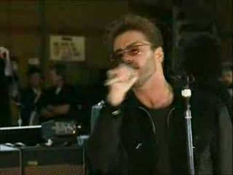 """SOMEBODY TO LOVE REHERSAL"" GEORGE MICHAEL & QUEEN ( FREDDY MERCURY TRIBUTE)"