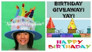 Birthday Giveaway and Challenge! Yay! ****CLOSED******