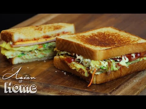 Asian at Home | Korean Street Toast