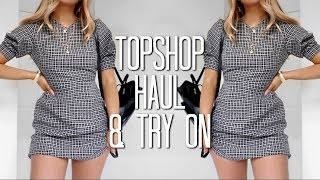 Topshop Haul & Try On Spring 2018 | Fashion Influx