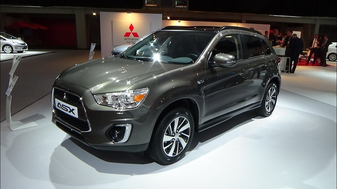 2015 mitsubishi asx intense exterior and interior auto. Black Bedroom Furniture Sets. Home Design Ideas