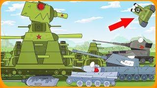 Мощь железного монстра Мультики про танки