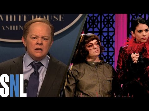 Thumbnail: Best of Melissa McCarthy on SNL: Top 5 Funniest Sketches & Impersonations including Sean Spicer