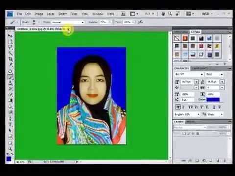 cara mengubah background di photoshop