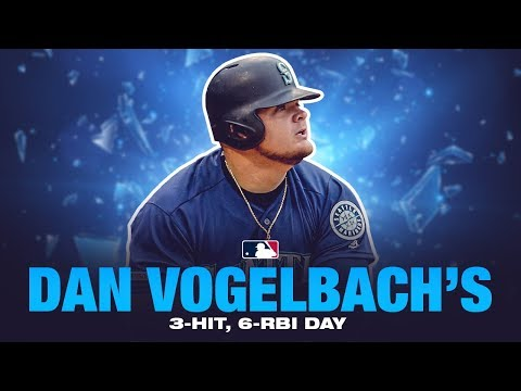 Vogelbach's big day at the dish (6 RBIs!)