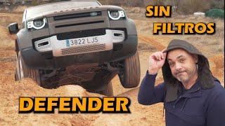 PRUEBA NUEVO LAND ROVER DEFENDER: 4x4 y CARRETERA A FONDO (test/review)