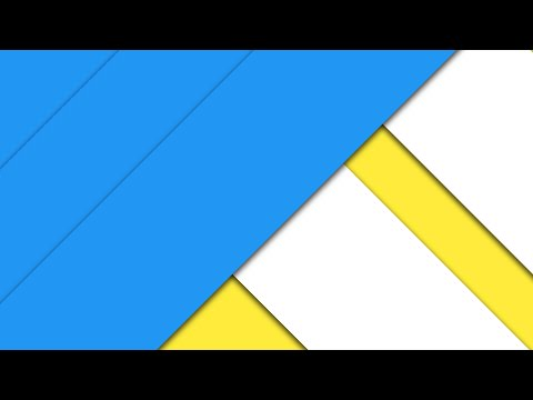 How To Create A Material Design Wallpaper - Photoshop Tutorial