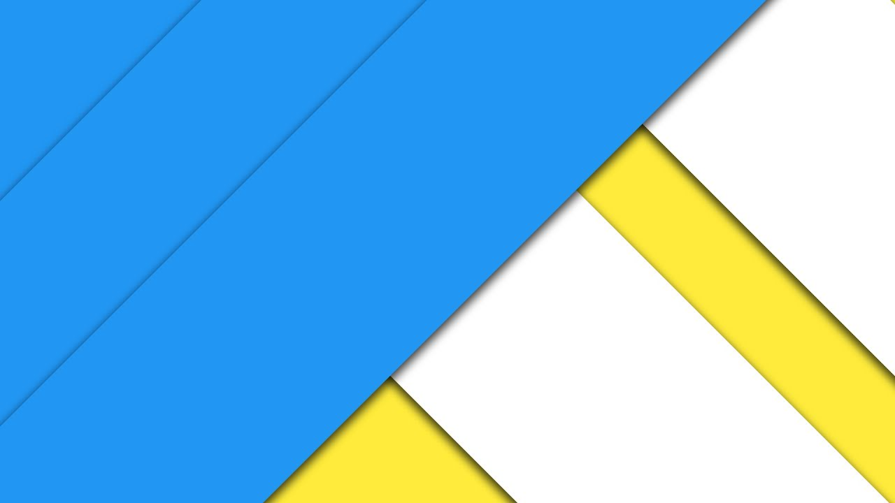 How To Create A Material Design Wallpaper - Photoshop Tutorial - YouTube