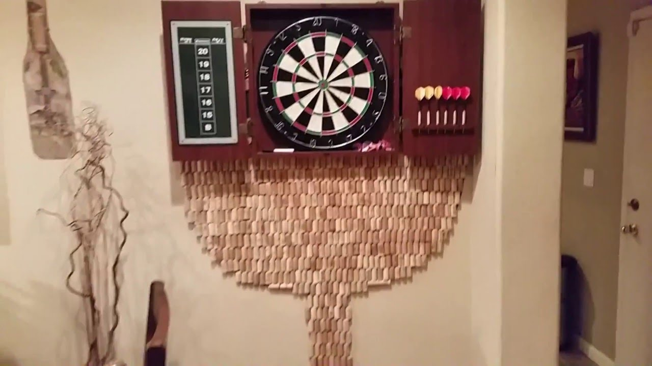 How To Make A Cool Dart Board Back On Stu S Channel