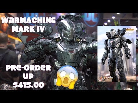 War Machine Mark IV (Special Edition) Avengers Infinity War SDCC pre-order $415.???