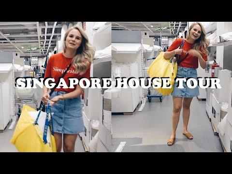 SINGAPORE APARTMENT TOUR (THE BEFORE) + IKEA VLOG