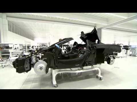 McLaren 12C Spider Assembly Line & Production - YouTube