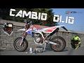CAMBIO OLIO e FILTRO HTM 125 4t in 1:40 minuti