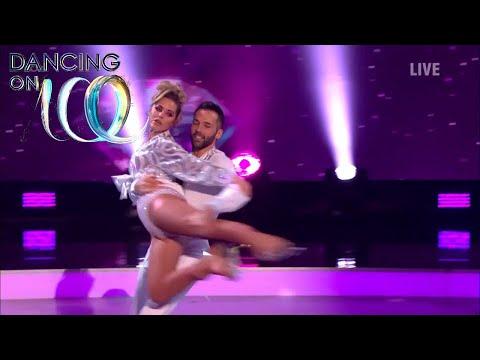 Hollyoaks' Stephanie Waring & Sylvain Give a Diamond Disco Performance! | Dancing On Ice
