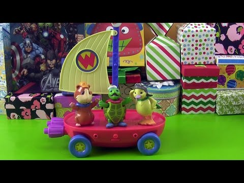 Wonder Pets Riding a Flyboat with Linny, Ming-Ming and Turtle Tuck