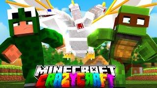 Minecraft - CRAZYCRAFT 3 - TINY TURTLE'S SECRET EPISODE! #4