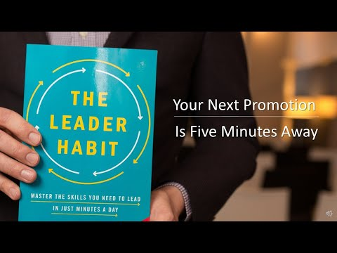Your Next Promotion Is 5 Minutes Away | Martin Lanik