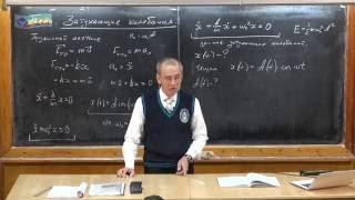 Урок 343. Затухающие колебания (часть 1)