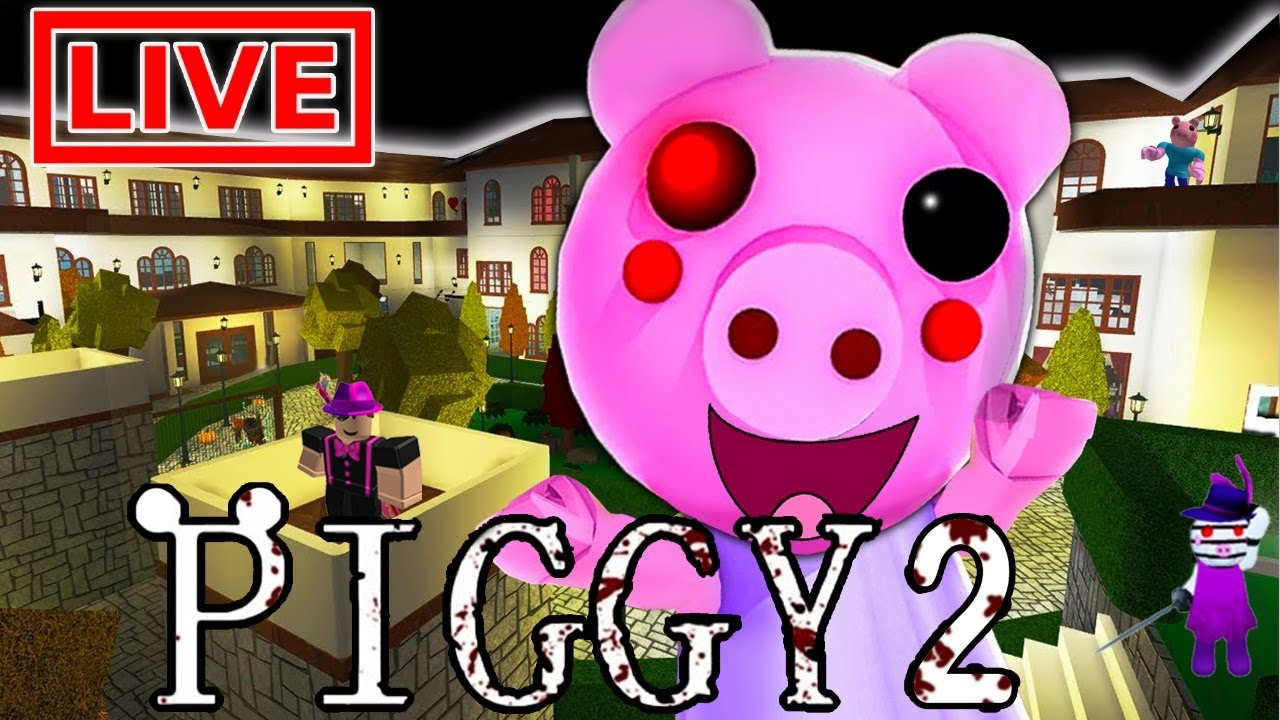 🐷 BUILDING PIGGY 2 MAPS (NEW) ROBLOX SURVIVE THE BUNNY MAZE