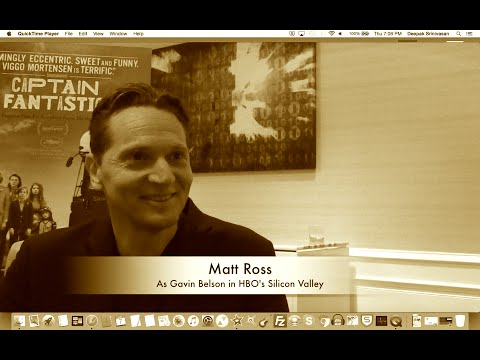 Matt Ross on Gavin Belson in HBO's Silicon Valley