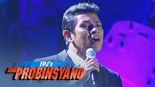 "Mr. Pure Energy Gary Valenciano sings ""Wag Ka Nang Umiyak"" while pa..."