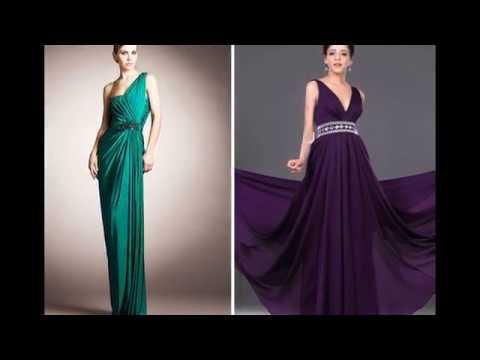 Платья в греческом стиле 2017